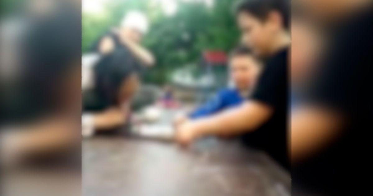 В Запорожье дети употребляли наркотики на детской площадке