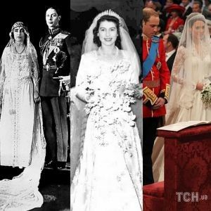Дві Єлизавети і Кейт: три королівських весілля у Вестмінстерському абатстві