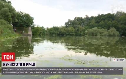 В реку Тетерев снова хлынули нечистоты: что случилось
