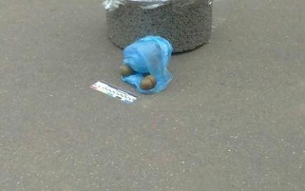 В Кривом Роге в урне нашли две гранаты и гвозди