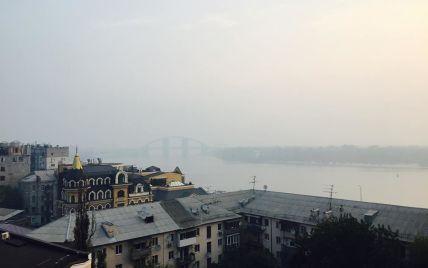 В каких районах Киева превышен уровень загрязнения воздуха. Инфографика