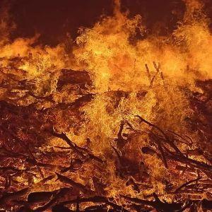 Под оккупированной Евпаторией несколько дней горел мусорный полигон: пожар удалось потушить