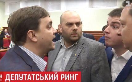 Бійка у Київраді: Кличко запропонував депутатам вийти на ринг