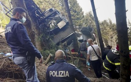 Аварія на канатній дорозі в Італії: трьох осіб підозрюють у вбивстві через необережність
