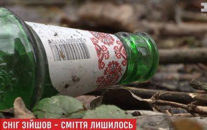 Київ ризикує захлинутися у смітті через дефіцит двірників