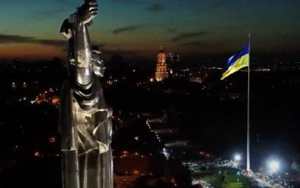 В усіх областях України побудують великі синьо-жовті стяги: Зеленський поділився, що готують до Дня прапора
