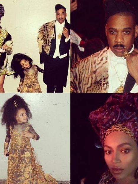 Бейонсе с семьей / © Instagram
