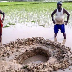 У маленькому селі на сході Індії впав ймовірний метеорит
