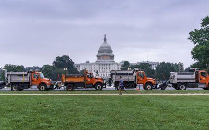 Капітолій обгородили вантажівками та поліцією: у США відбуваються мітинги прихильників та противників Трампа