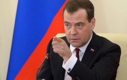 Россия не гарантирует территориальную целостность Украины - Медведев