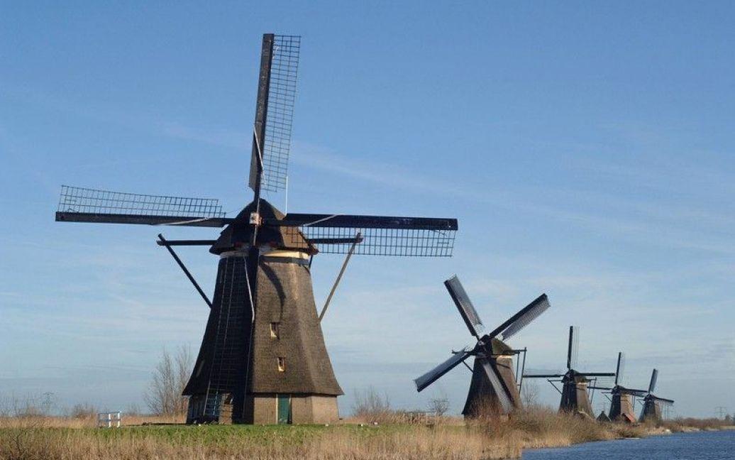 Вітряні млини - один із символів Нідерландів / © EastNews