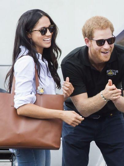 Меган Маркл і принц Гаррі / © East News