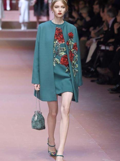 КоллекцияDolce&Gabbana прет-а-порте сезона осень-зима 2015-2016 / © East News