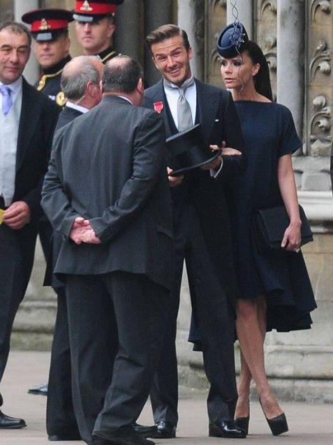 Виктория Бекхэм на свадьбе принца Уильяма и герцогини Кэтрин в 2011 году / © East News