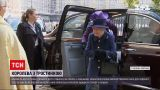 Новости мира: Елизавета II впервые появилась на публике с тросточкой