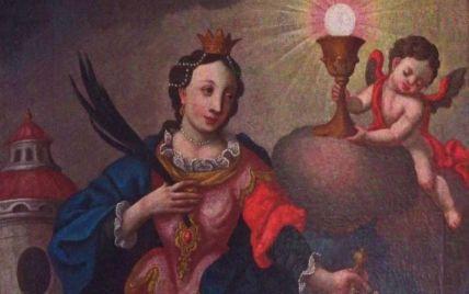 Киевскому музею Ханенко шведский профессор подарил уникальную картину XVIII века