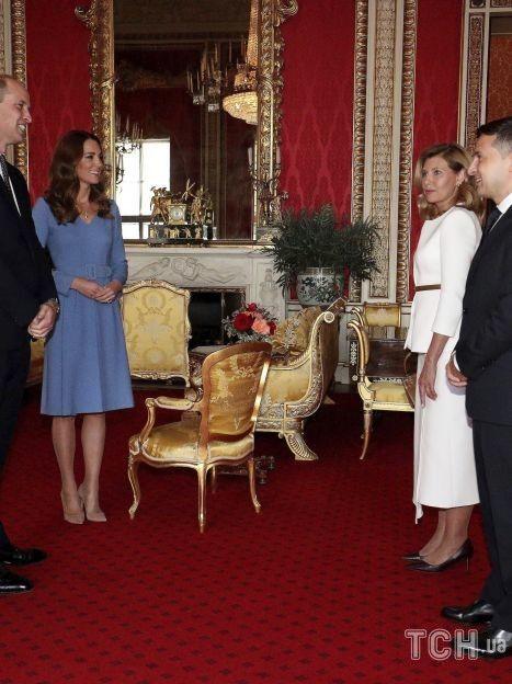 Герцогиня Кембриджская и принц Уильям, Владимир Зеленский и Елена Зеленская / © Associated Press