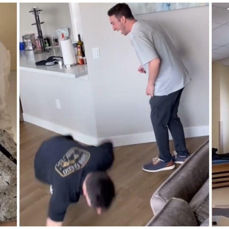 Необычная мотивация: парализованный парень чудом быстро выздоровел, чтобы ударить друга в одно место