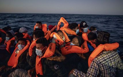 В Ливии в результате опрокидывания лодки погибли 57 мигрантов, направлявшихся в Европу