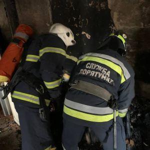Пожежа у Рівному: що відомо про стан жінка, яка вистрибнула з вікна
