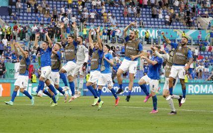 Первая в истории: сборная Италии установила феноменальное достижение на Евро-2020