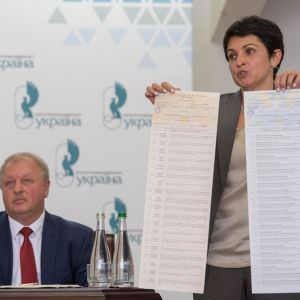 У ЦВК показали бюлетені на вибори до Ради