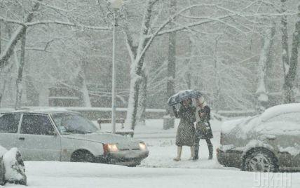Синоптики з години на годину прогнозують Києву потужний снігопад