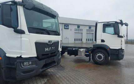 В Украине появились первые грузовики MAN нового поколения