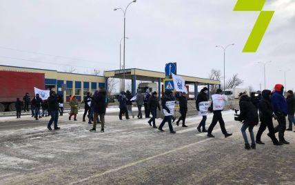 Моряки перекрыли трассу Одесса — Киев: что известно