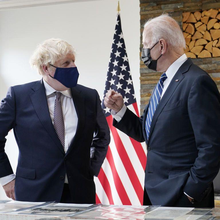 Напередодні саміту G7 Байден і Джонсон провели особисту зустріч: про що говорили лідери країн