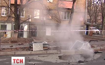 Прорив магістрального трубопроводу залишив без тепла і води сотні будинків у центрі Києва