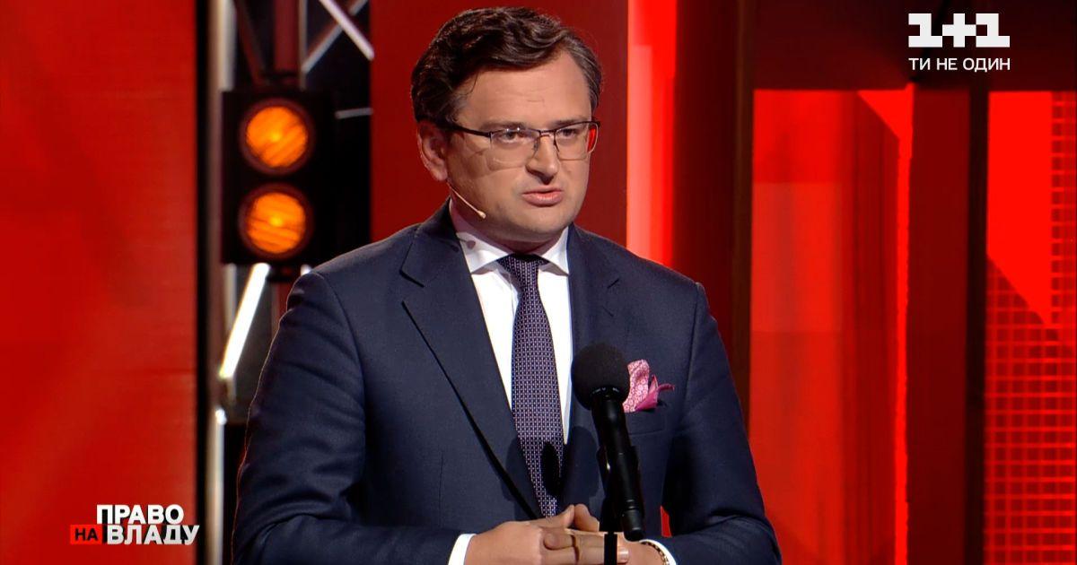 По словам Дмитрия Кулебы, продолжается работа над тем, чтобы США помогли Украине с вакцинами