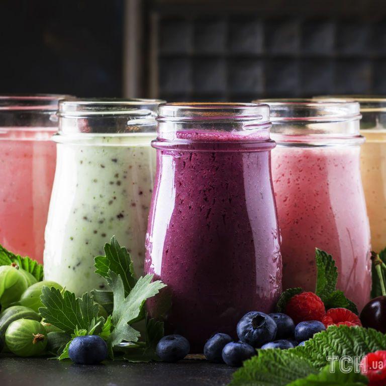 Сім рецептів смузі з фруктами, ягодами і овочами