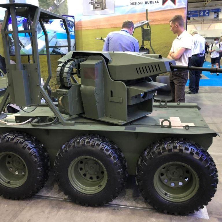Представлены украинские наземные боевые дроны, их могут получить ВСУ
