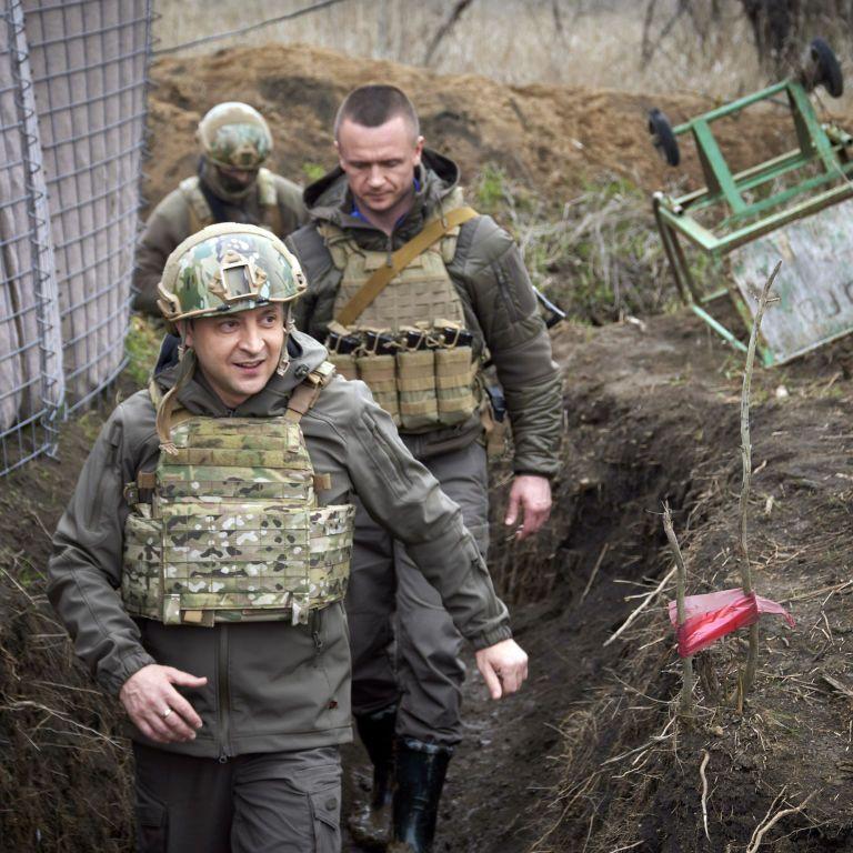 Зеленский заявил, что Байден должен сделать больше, чтобы помочь завершить войну на Донбассе