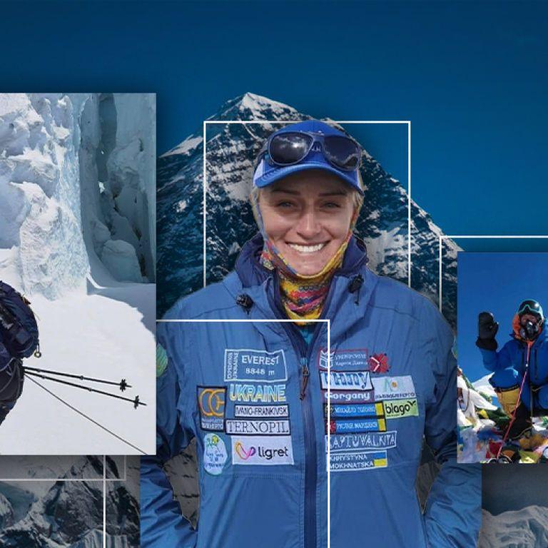 Фейкове фото з вершини Евересту: подробиці скандалу навколо відомої альпіністки з Івано-Франківська