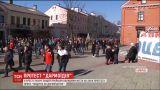 """У білоруському Бресті протестували проти """"податку на дармоїдство"""""""