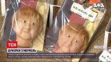 Новини світу: німецька майстерня виготовляє солодощі із портретом Ангели Меркель
