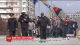 """У Запоріжжі півсотні людей взяли участь у ході на честь загиблого """"кіборга"""" Данила Касьяненка"""