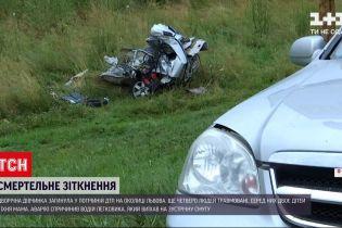 Новини України: у Львові дворічна дівчинка загинула у ДТП за участю одразу трьох авто