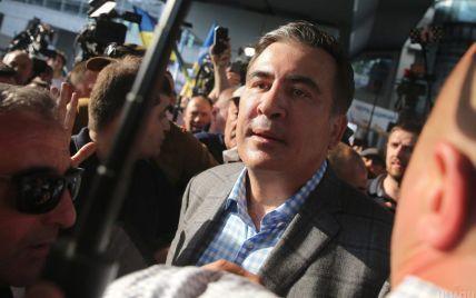 Саакашвили купил билет из Киева до Тбилиси: фотофакт