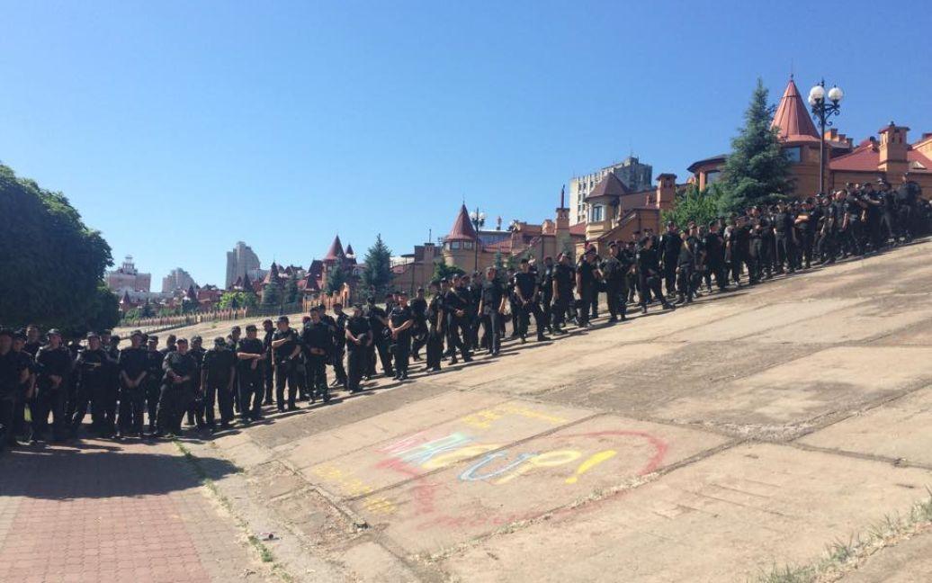 """В Киеве проходит """"Марш равенства"""" / © ТСН.ua"""