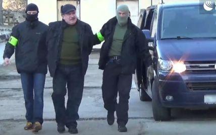 """ФСБ обнародовала видео задержания """"украинского шпиона"""" в оккупированном Крыму"""