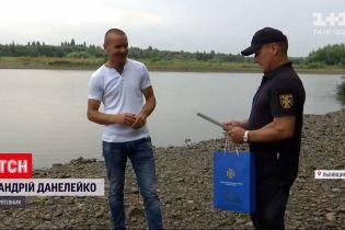 Новости Украины: 30-летнего мужчину, который спас из воды 3 человек, пригласили работать в ГСЧС