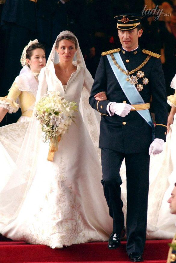 Príncipe Heredero Felipe de Borbón y Leticia Ortiz 2004. Madrid.  / © Getty Images