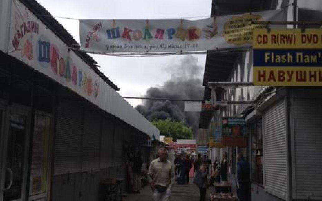 Пожар уже потушили / © twitter.com/imikhaleva