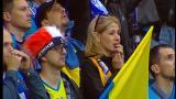 Украинские болельщики в Варшаве не уступали испанцам