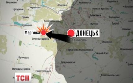 Боевики трижды пытались прорвать оборону сил АТО в районе Марьинки и на Луганщине