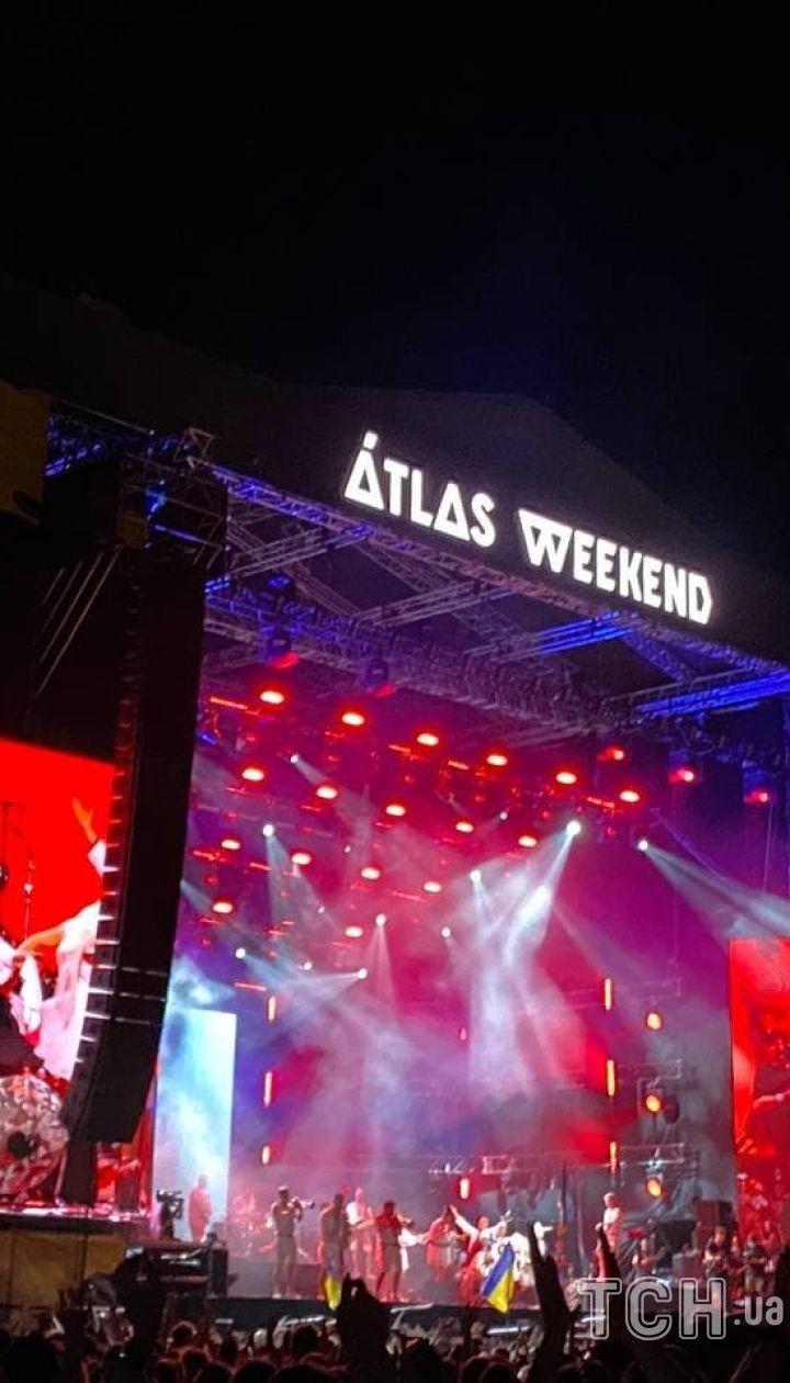 Верка Сердючка на Atlas Weekend / © Алина Онопа, ТСН.ua