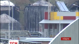 Огонь на нефтебазе под Киевом угасает